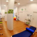 Nuestro gimnasio para las sesiones de fisioterapia