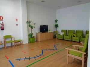 Sala de terapia y descanso